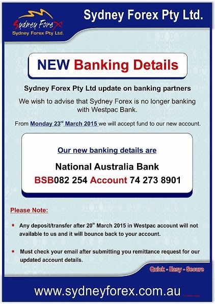 Sydney forex exchange pakistan